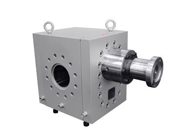 Batte extrusion pump involves much lower shear than normal extruders pump