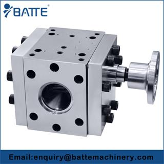 Thermoplastics extrusion pumps
