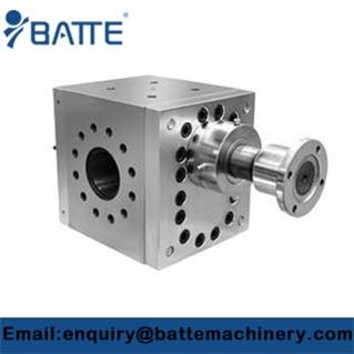 Gear pump in plastic extrusion industry