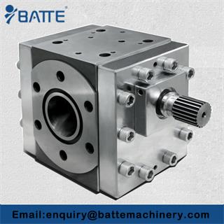High Pressure PP Pipe Extrusion hot melt gear pump