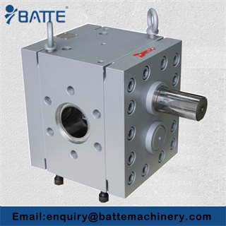 Rubber gear pump application