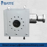 Gear pipeline pump
