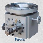 Gear pump extrusion line